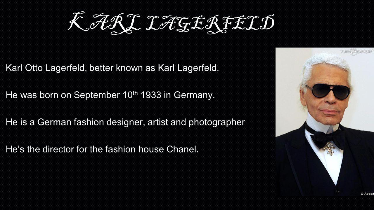 Look - 10 didnt things know karl lagerfeld video