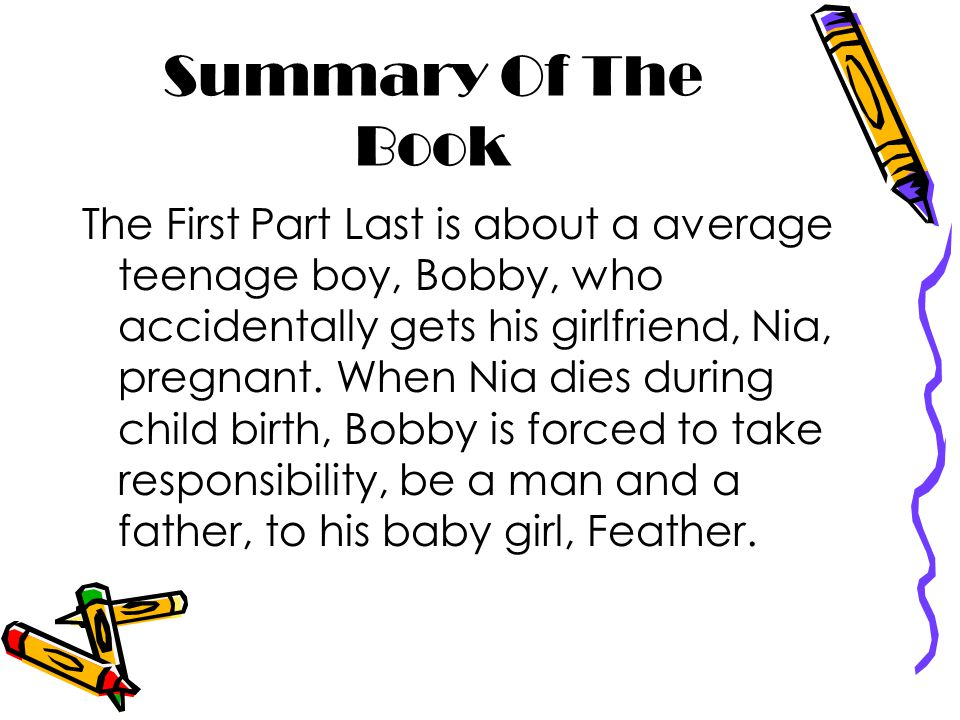 the first part last summary