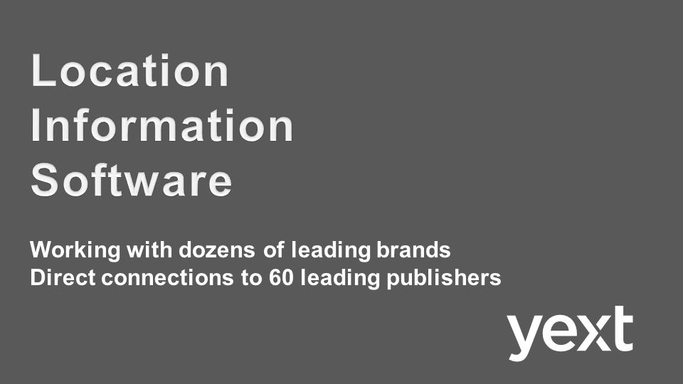 Working with dozens of leading brands Direct connections to 60 leading publishers