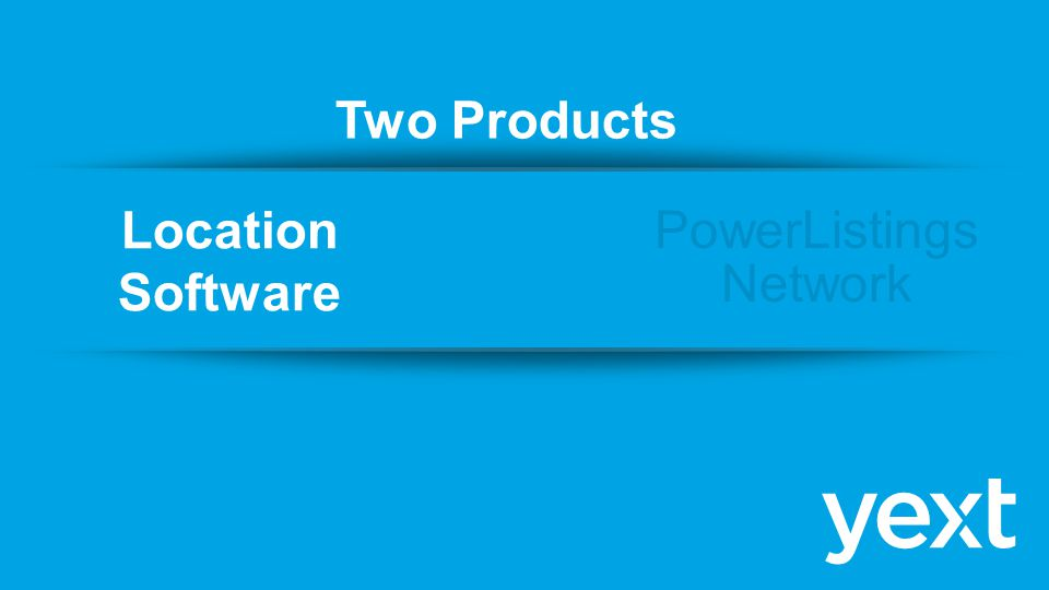 PowerListings Network Location Software Two Products &