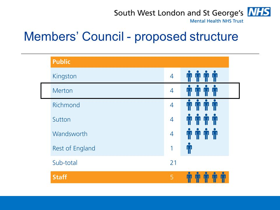 Members' Council - proposed structure