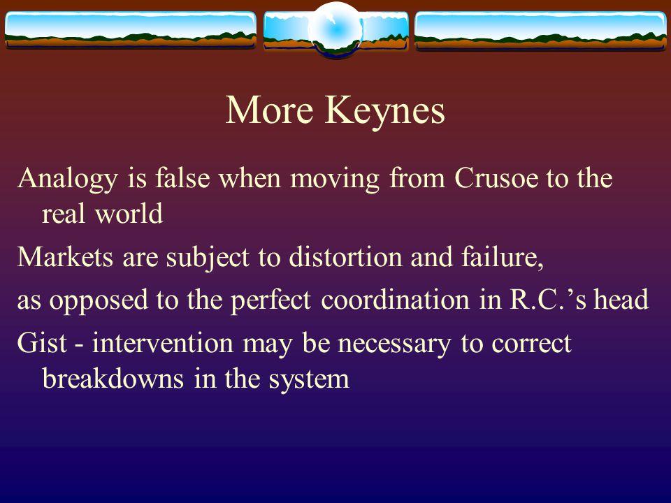 Resultado de imagen para CRUSOE KEYNES