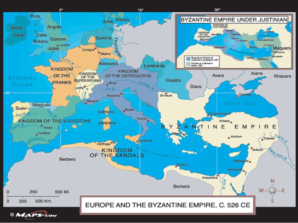 Western Europe in the early Middle Ages (Franks & Vikings) - ppt