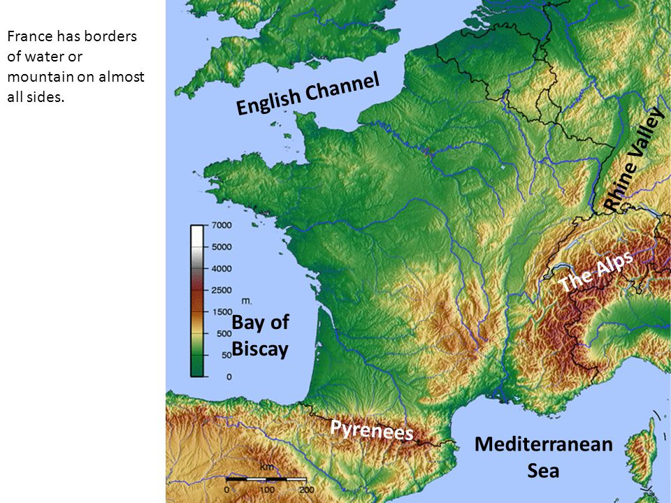 Mountains Of France Map.Geography Of France Objectives Identify France On A Blank Map Of