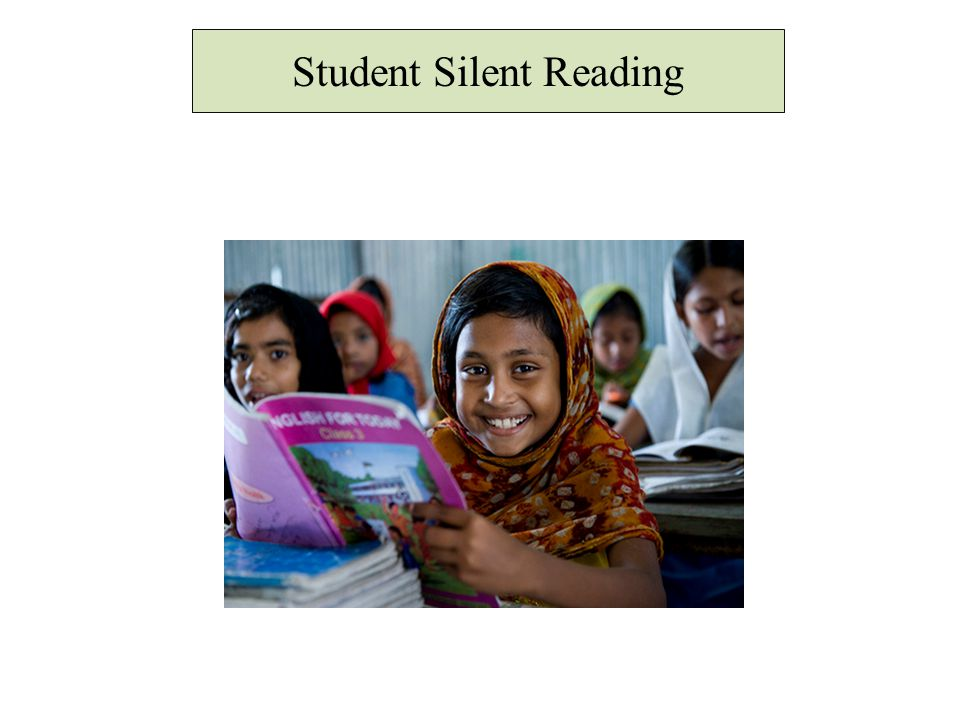 Student Silent Reading