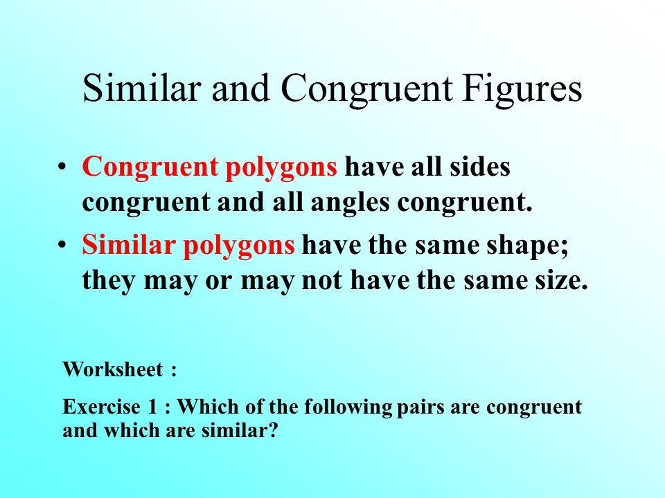 Chapter 10 Congruent And Similar Triangles Introduction Recognizing