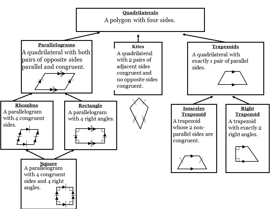 Section 86 Identify Special Quadrilaterals Rhombus Quadrilaterals