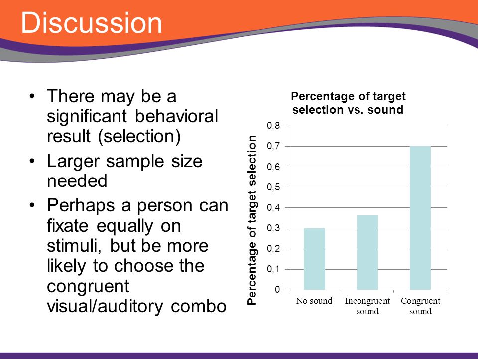 Effects of Sound and Visual Congruency on Product Selection
