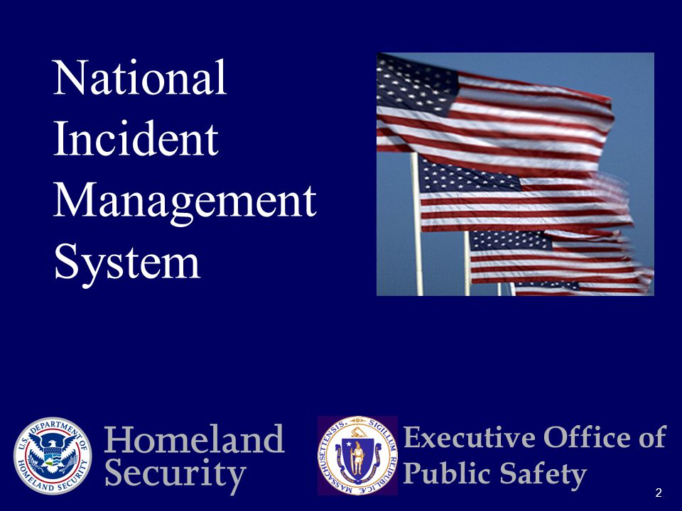 2 National Incident Management System