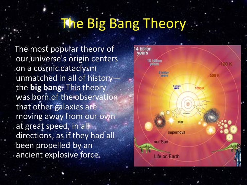 the steady state theory of the origin of the universe