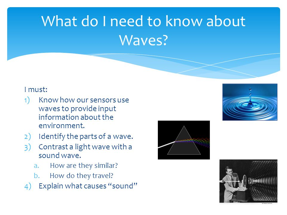 What do I need to know about Waves.