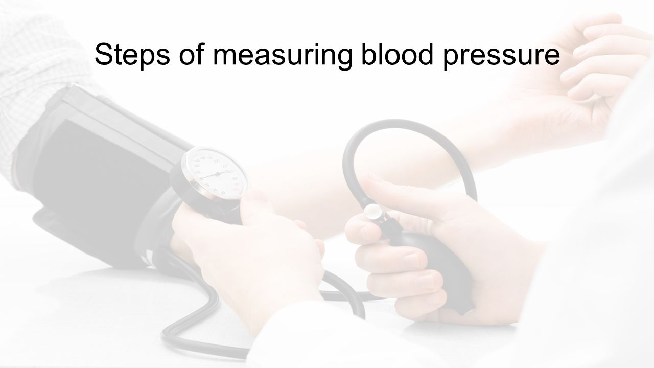 How to Measure Blood Pressure Ramy Shaaban  Goals and Objectives