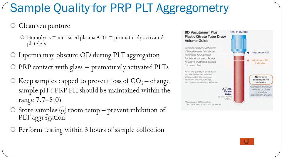 Platelet Count Range Chart