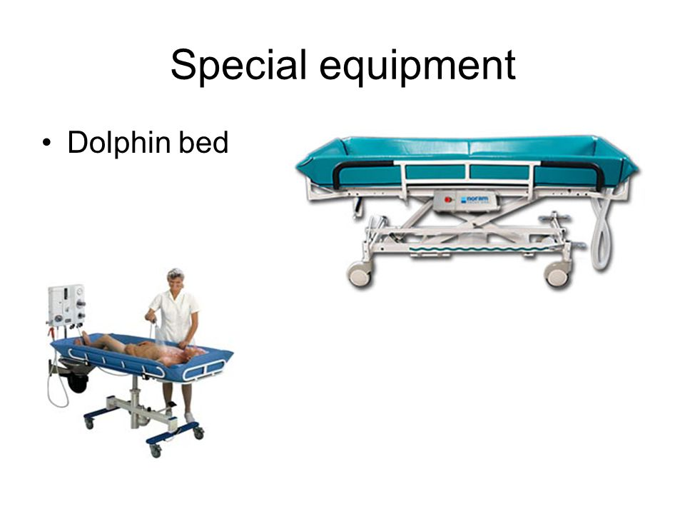 Special equipment Dolphin bed