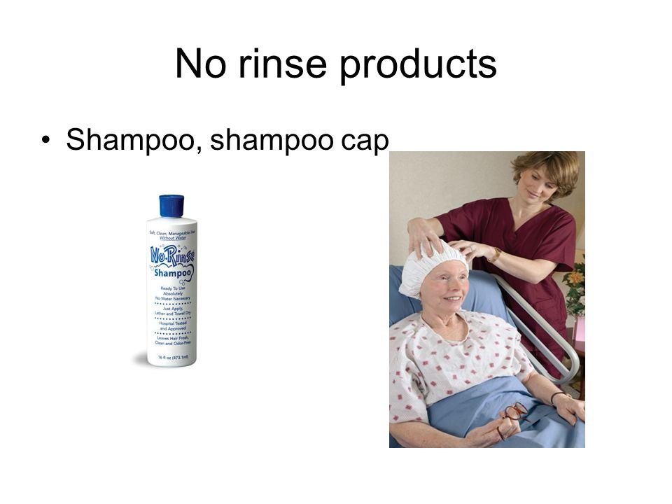 No rinse products Shampoo, shampoo cap
