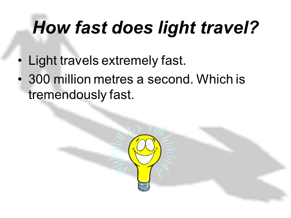 "how did the speed of the The speed of light in a vacuum stands at ""exactly 299,792,458 metres per second""the reason today we can put an exact figure on it is because the speed of light in a vacuum is a universal constant that has been measured with lasers and when an experiment involves."