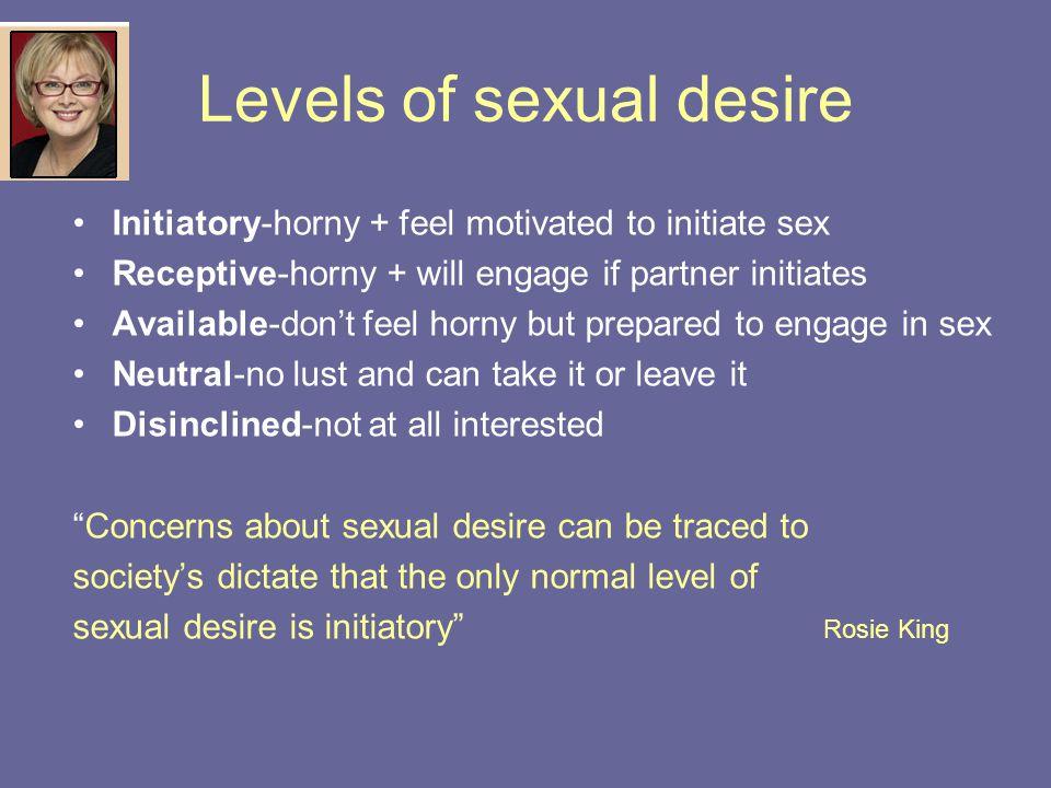 no sexual interest in partner