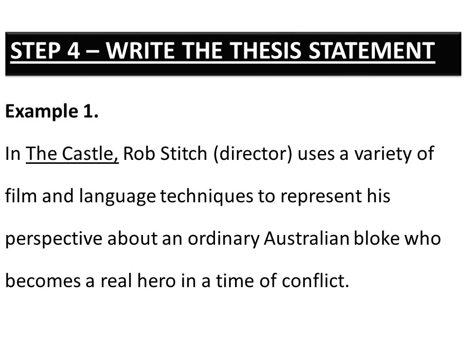 what is an analytical thesis statement The thesis statement is the announcement of your analytical argument that you intend to make and prove in the duration of your paper it is a road map for the paper—it tells the reader what to expect from the rest of the paper.