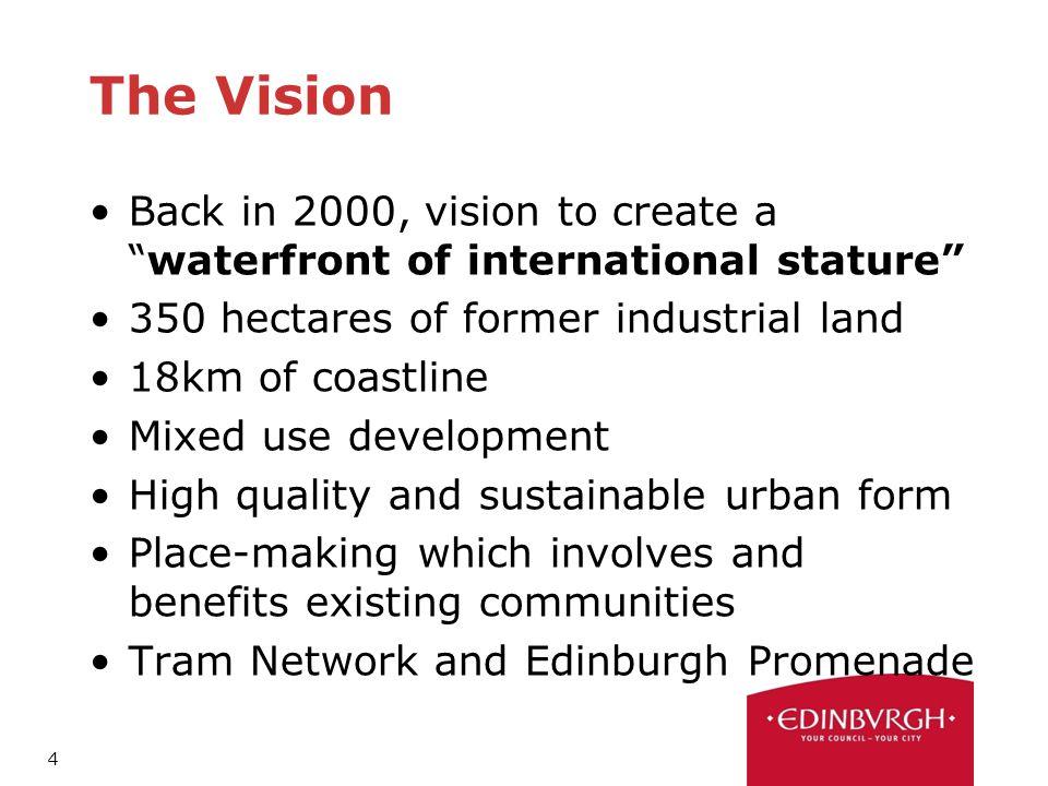 1 An Introduction to Edinburgh Waterfront Alison Kirkwood