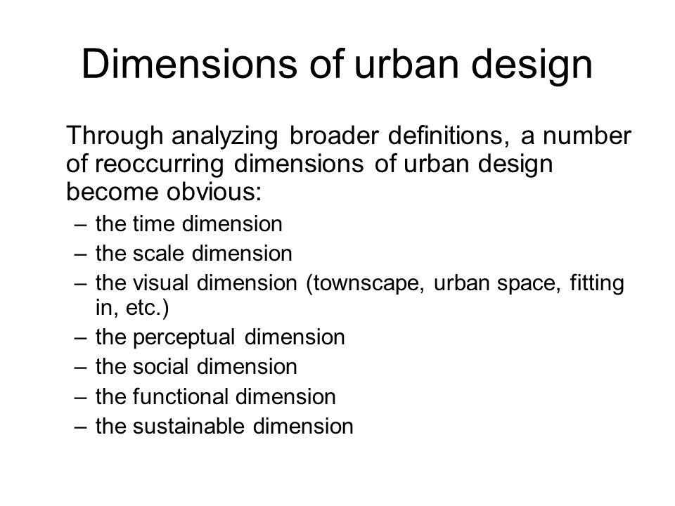 Arch 455 Urban Design Major Elective I By Sebnem Hoskara Naciye Doratli Emu Faculty Of Architecture Department Of Architecture Ppt Download