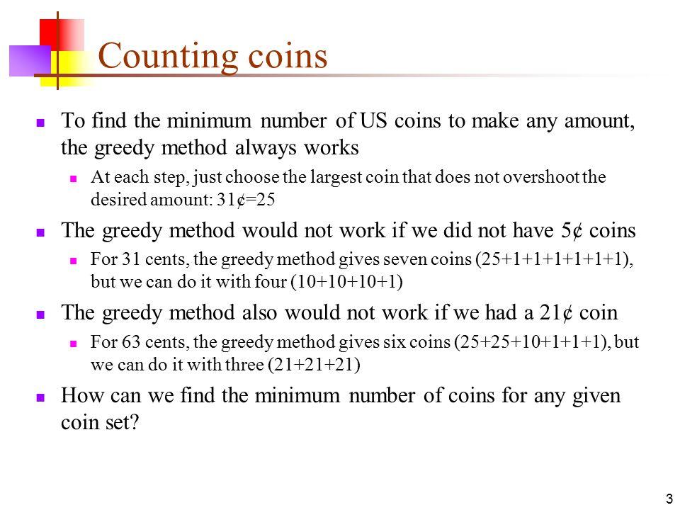 15-May-15 Dynamic Programming  2 Algorithm types Algorithm types we