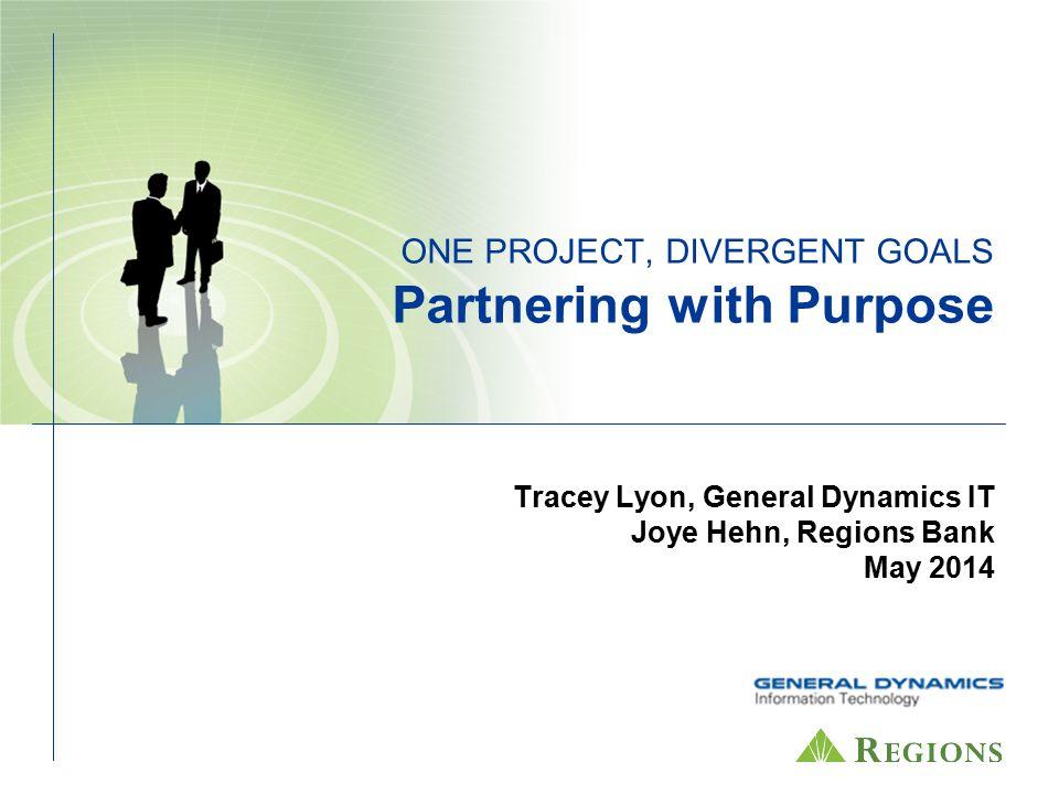 Tracey Lyon, General Dynamics IT Joye Hehn, Regions Bank May