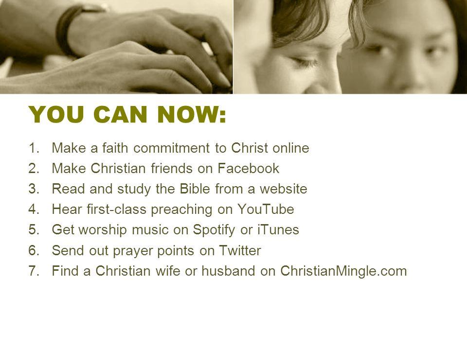 Make christian friends online