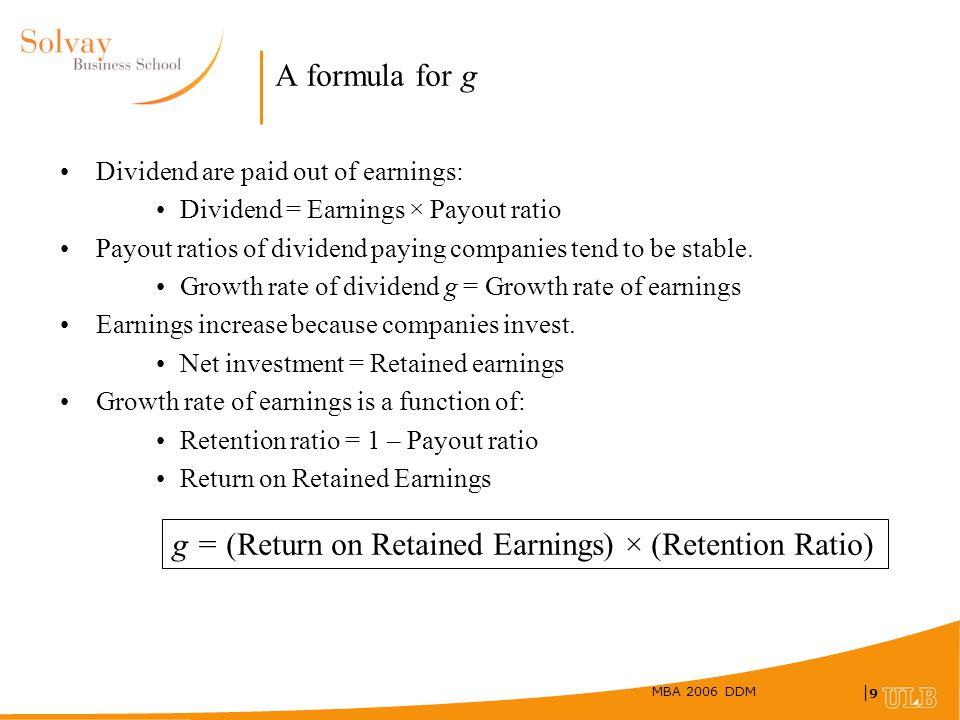 Retained Ratio