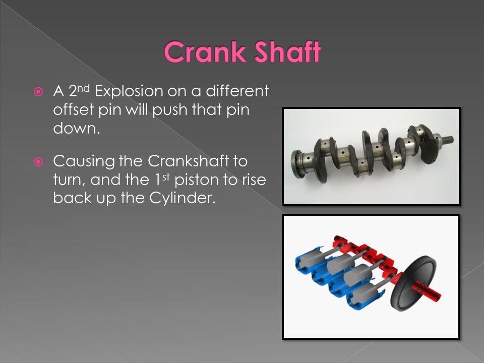  A 2 nd Explosion on a different offset pin will push that pin down.