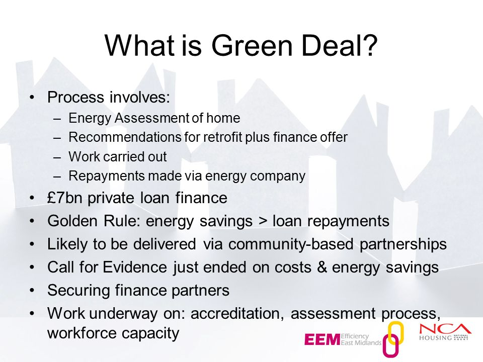 What is Green Deal.