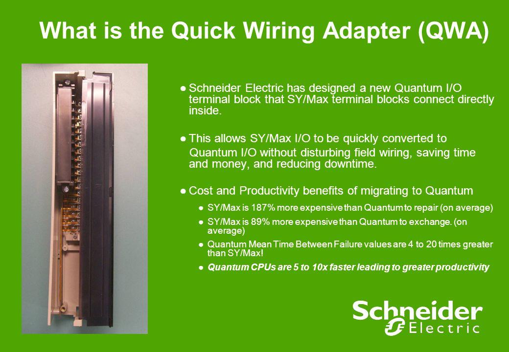 Fantastic Sy Max To Quantum Quick Wiring Adapter Qwa Frank Prendergast Wiring Digital Resources Jonipongeslowmaporg
