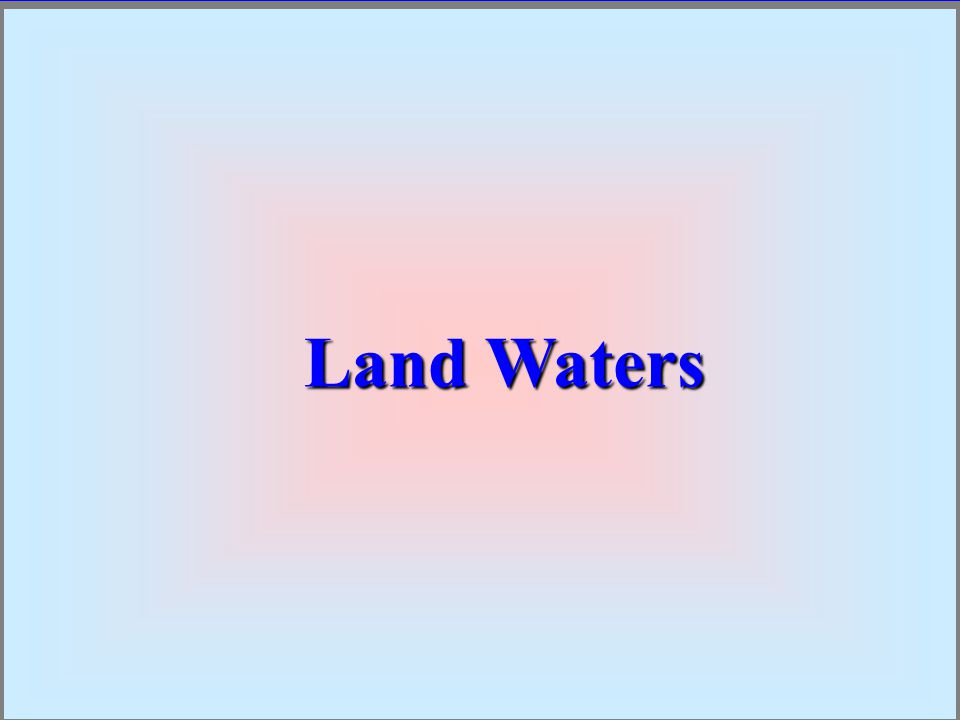 Land Waters