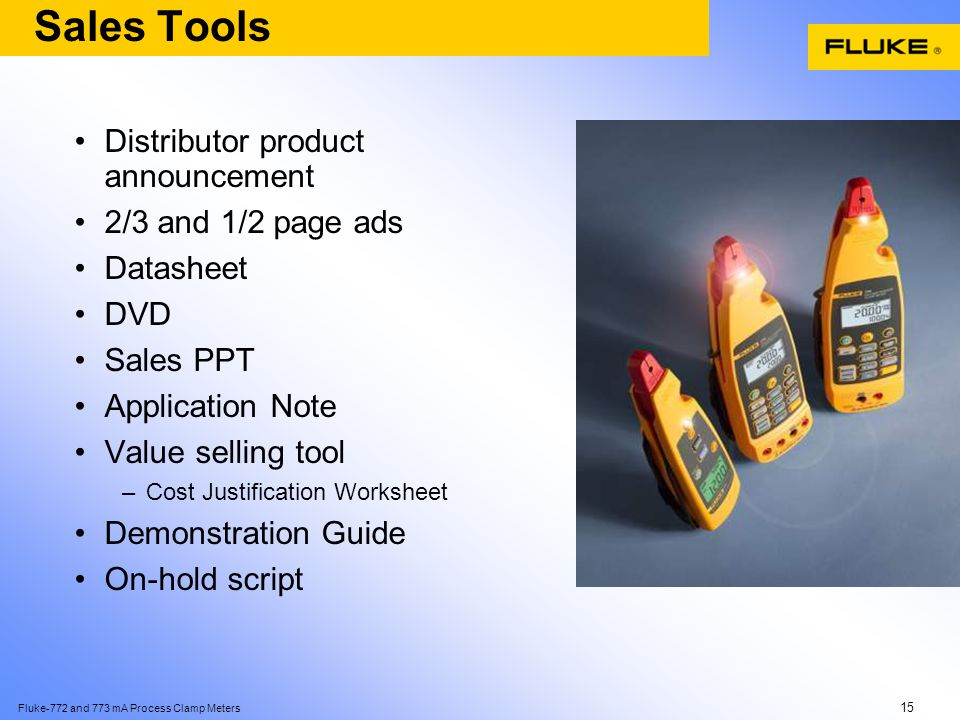 Fluke-772 and 773 mA Process Clamp Meters 1 Introducing the new