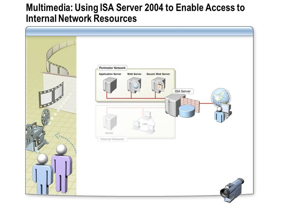 Multimedia: Using ISA Server 2004 to Enable Access to Internal Network Resources