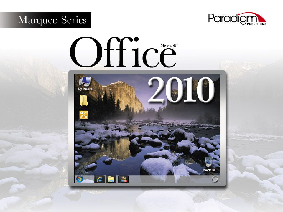 paradigm marquee edition microsoft office 2013 first course