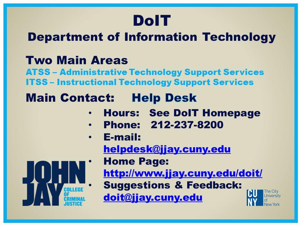 2 DoIT Department ...