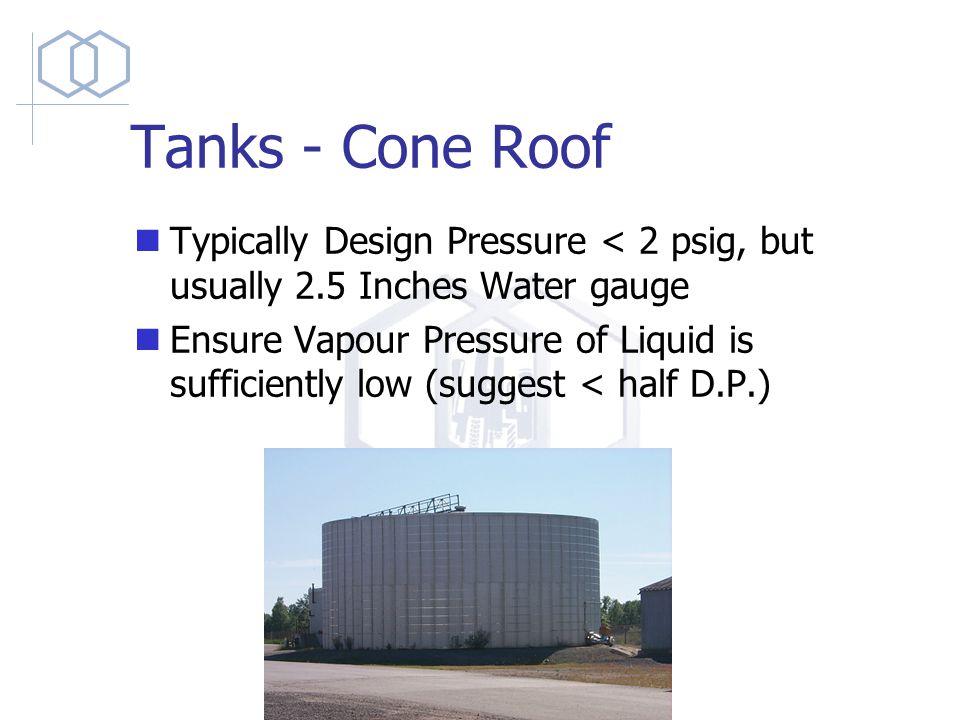 Drums, Vessels, & Storage Tanks Design Considerations  - ppt