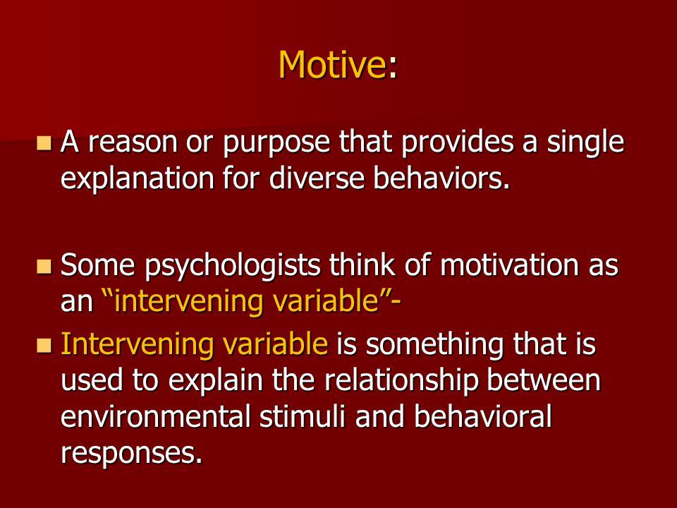 explain the relationships between motivation emotion and behavior
