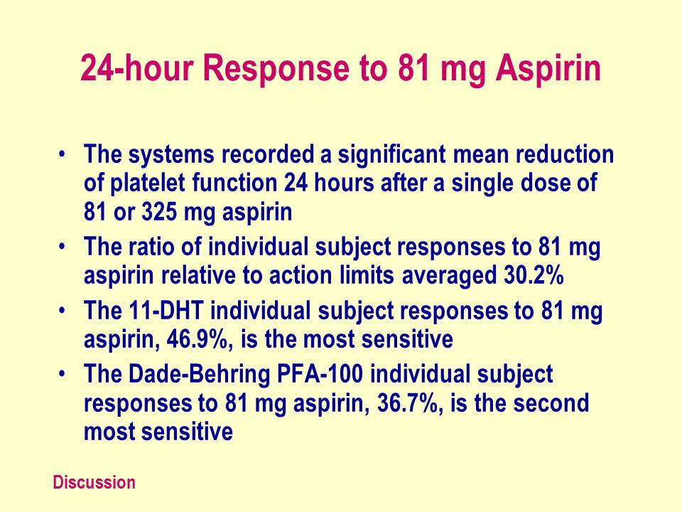 1 Aspirin and Plavix Sensitivity and Resistance: Are Different Tests