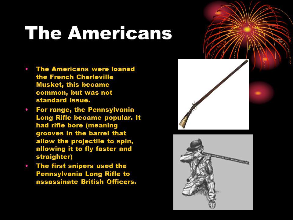 Weapon's of the Revolutionary War By MaKenzie Dixon  - ppt