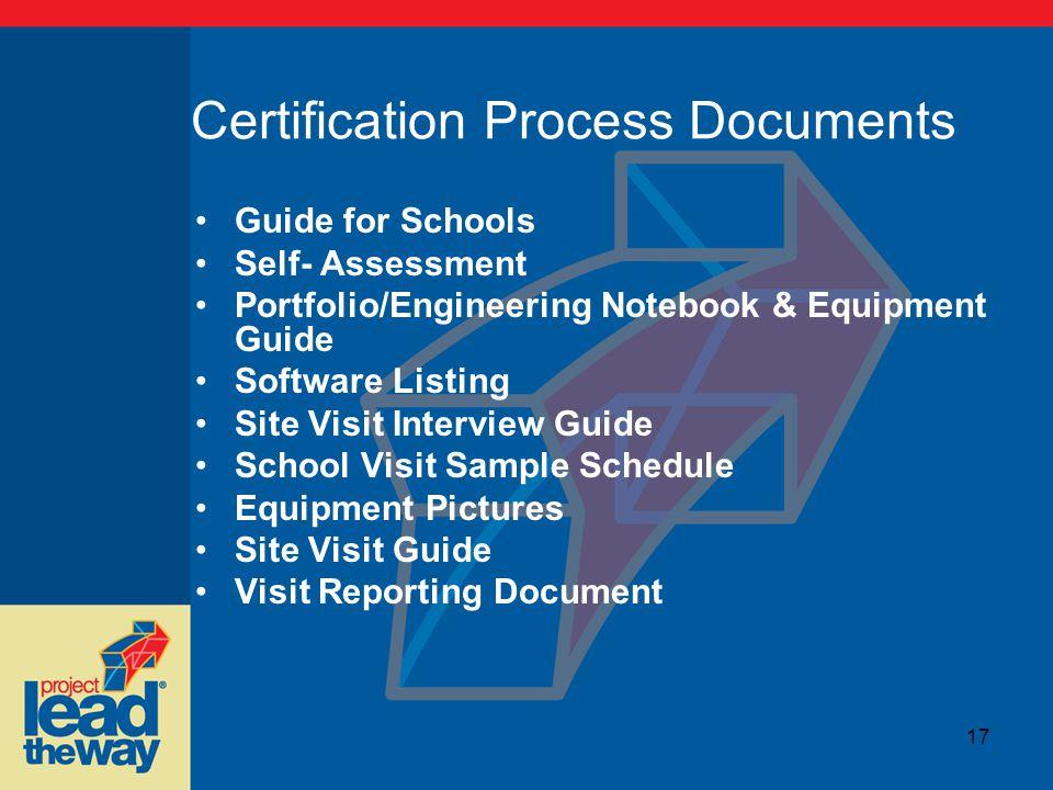 program quality the certification process crickett thomas o dell rh slideplayer com Best Robotics Engineering Notebook Examples Best Robotics Engineering Notebook Examples