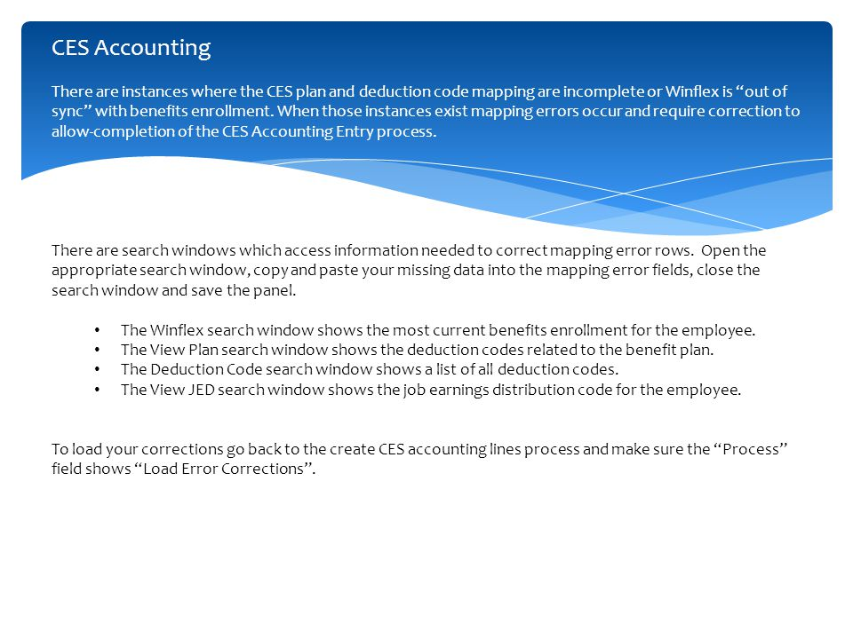CES Reconciliation Refresher  The ADP Benefits Clearing