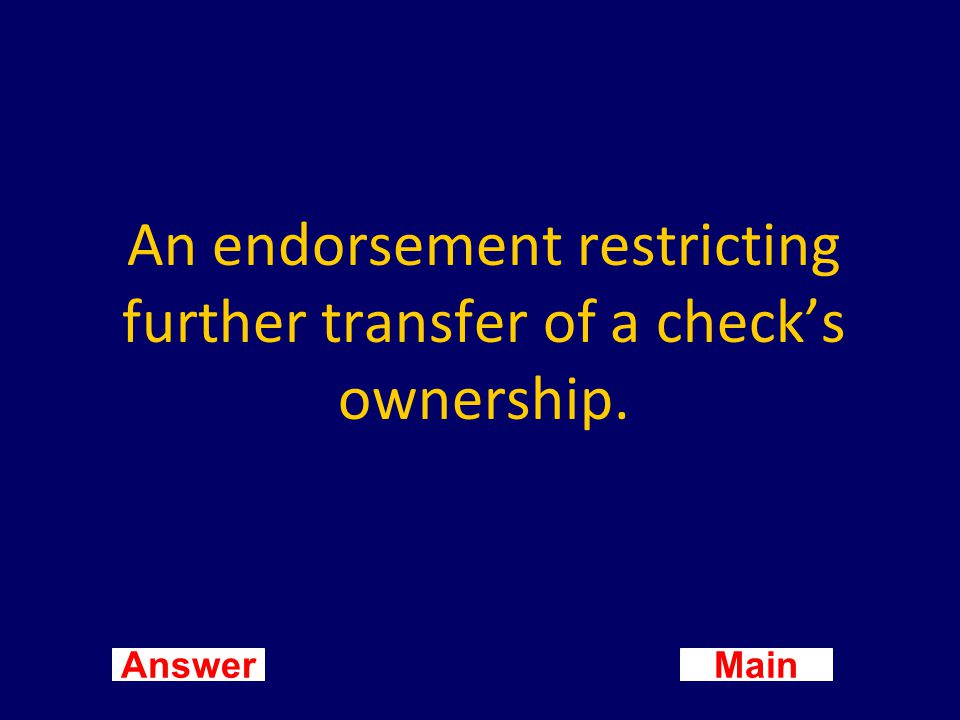 Main New Question Answer What is electronic funds transfer