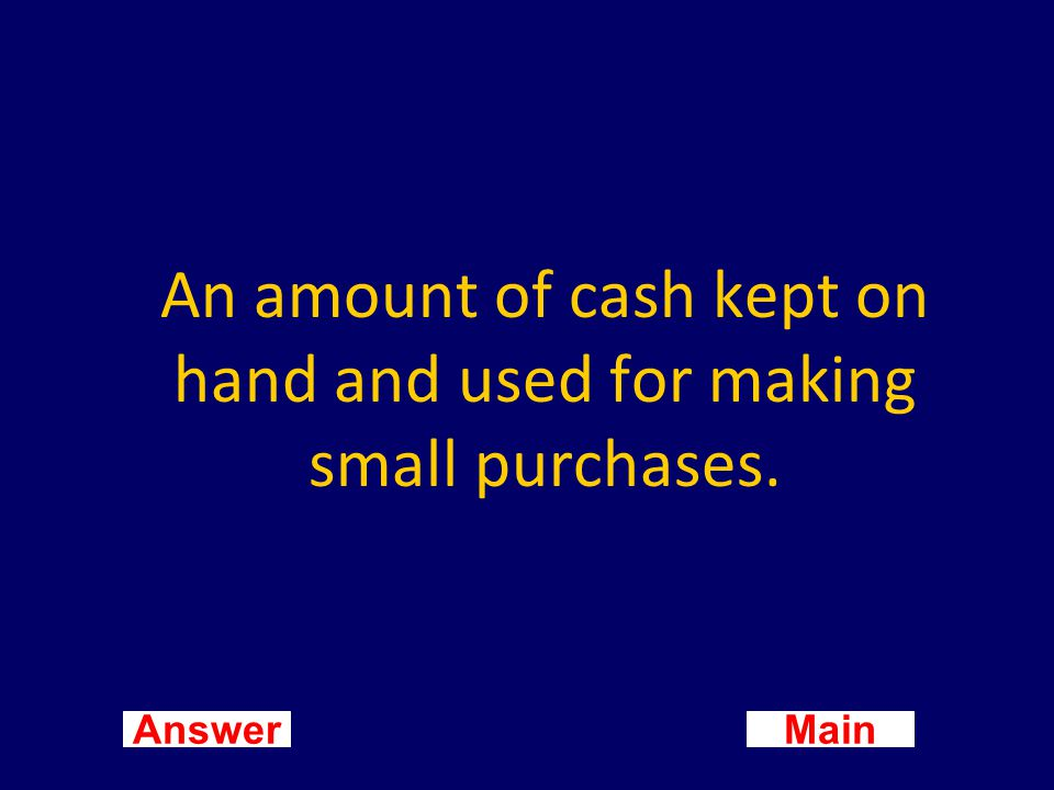 Main New Question Answer What is a postdated check