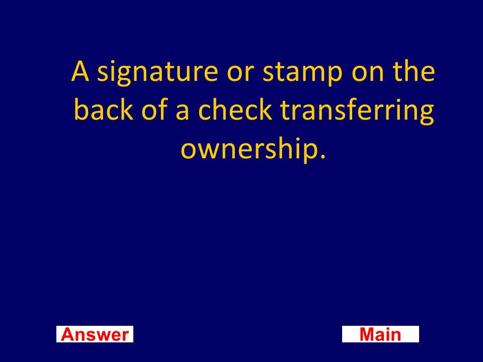 Main New Question Answer What is a petty cash slip