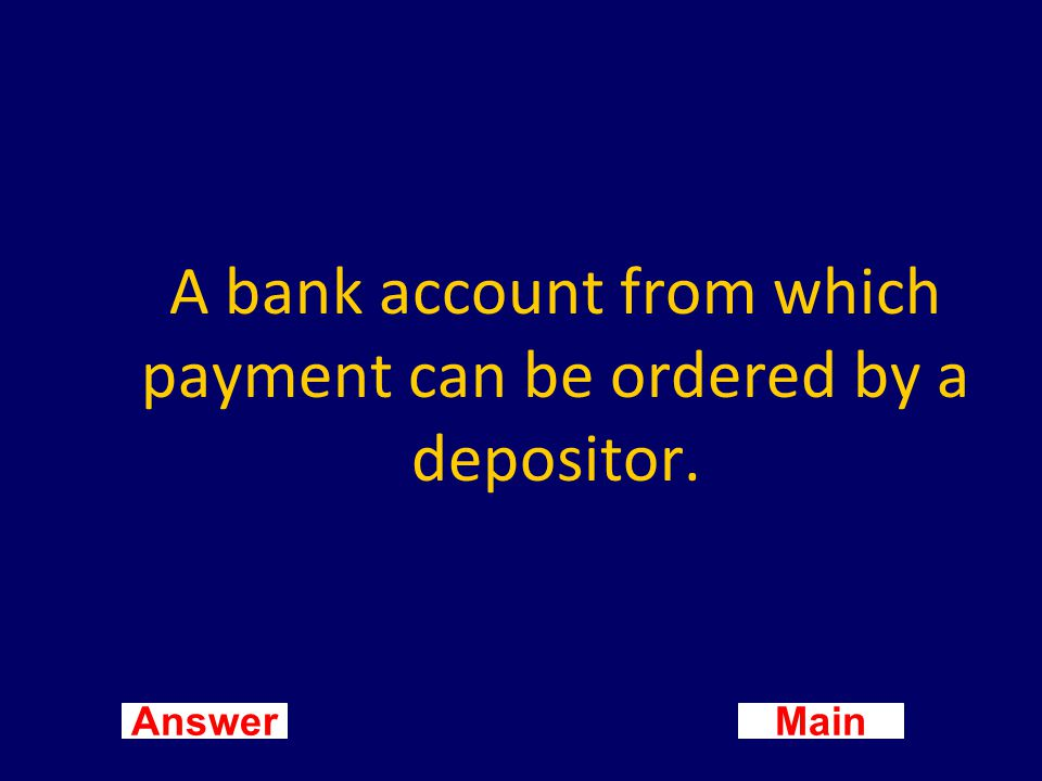 Main New Question Answer What is a debit card