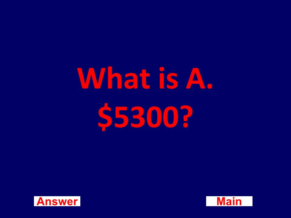 Main New Question Answer The bank statement shows a checking account balance of $5,500.