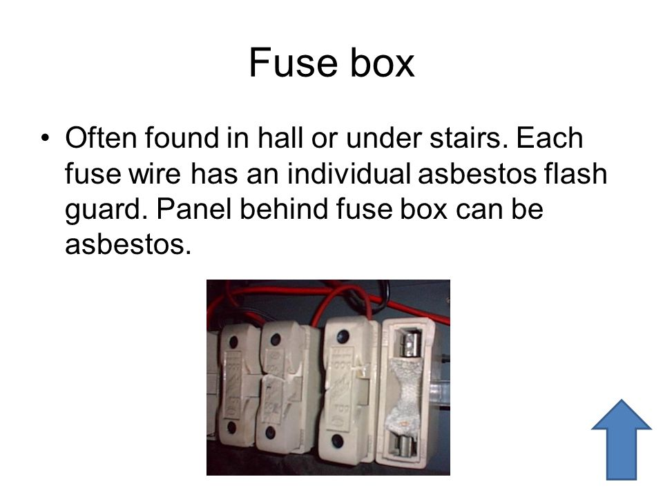 Fuse Box Under Stairs on