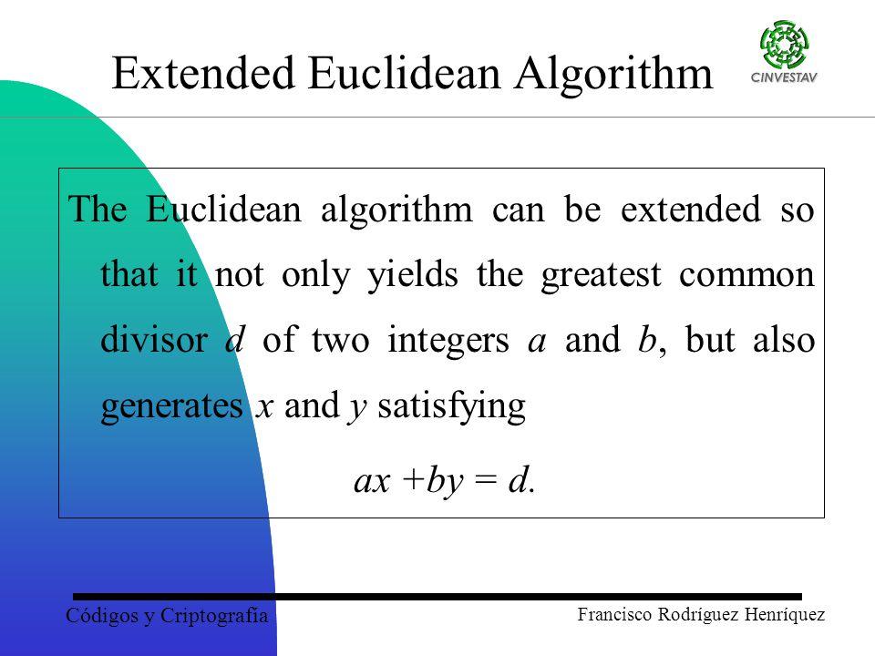 extended euclidean
