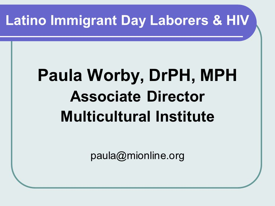 Similar. What latino young day laborers sex remarkable